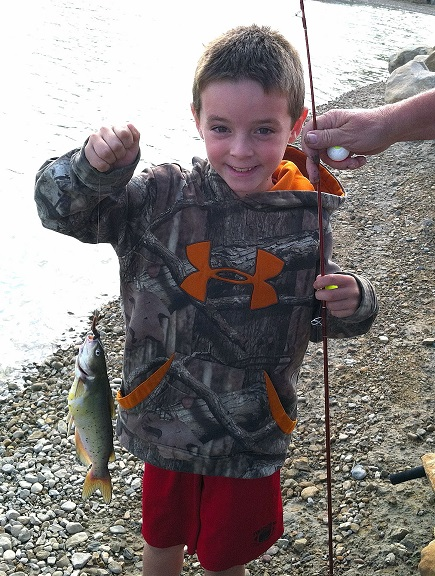 Family Fishing Day at Carbon County Fairgrounds Pond