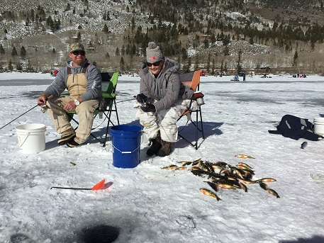 Cold Ice Means Hot Fishing