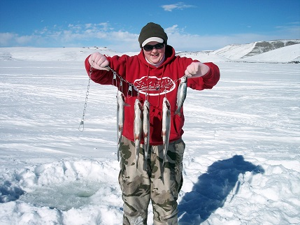 Learn How to Ice Fish, Then Go Fishing