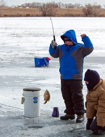 Basic Equipment Equals Fish and Fun on the Ice